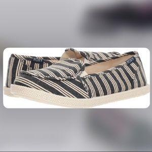 Roxy Lido Rope Navy Stripe Shoe